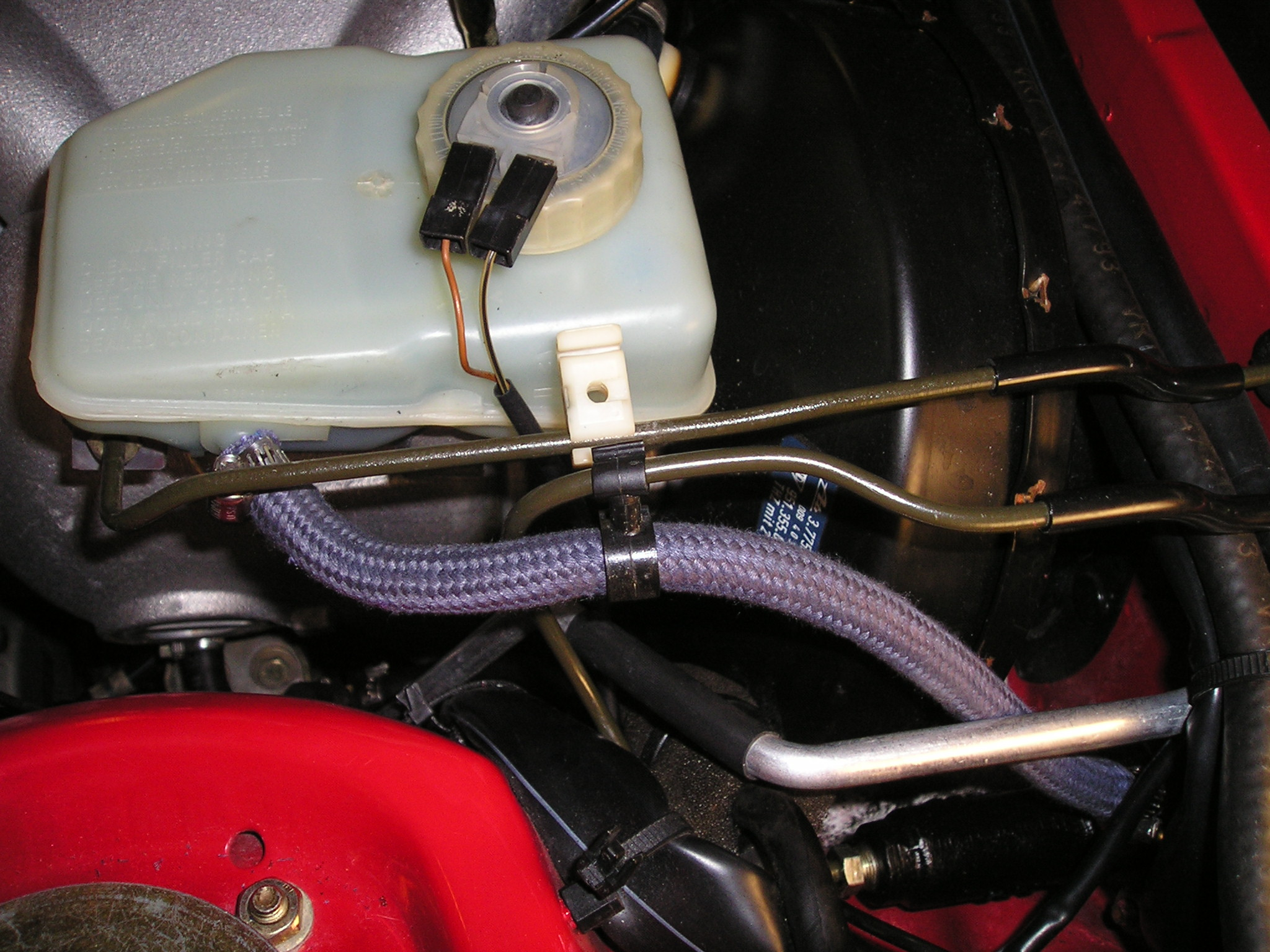 Clutch Master Cylinder Replacement