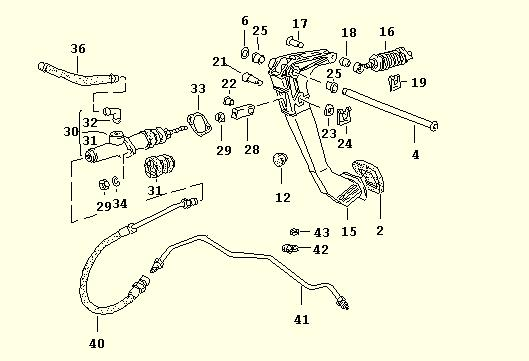 clutch master 968 exploded clutch master cylinder replacement wiring diagram 2014 mustang clutch pedal at soozxer.org