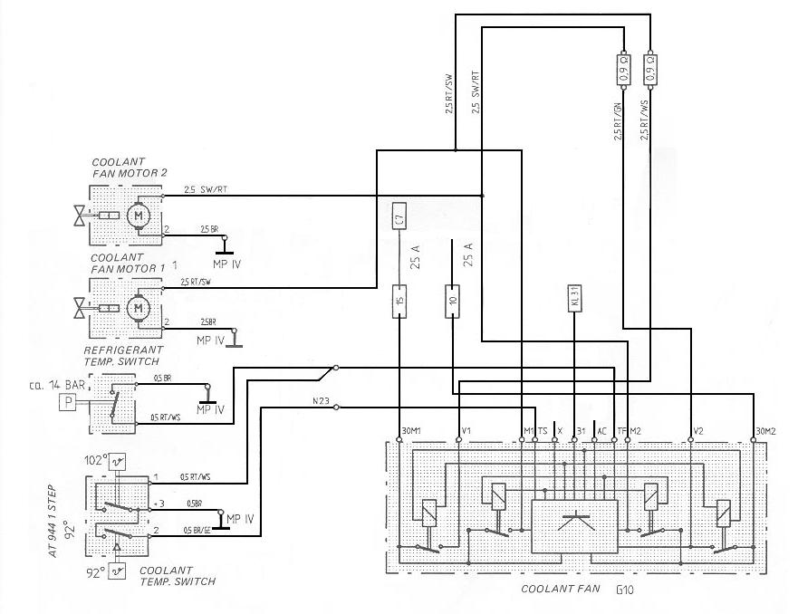 Cooling Fan Late on Dual Radiator Fan Wiring Diagram