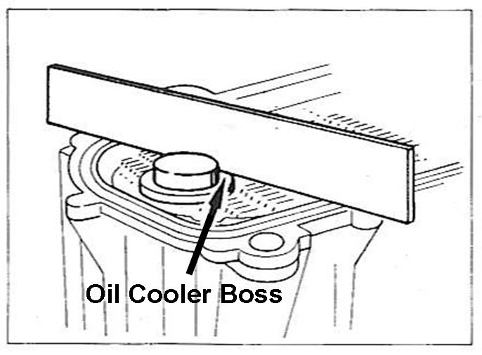Oil Cooler General Information And Seal Replacement