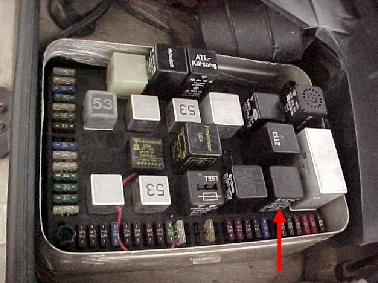 dme relay information and testing porsche 924 relay diagram porsche 924 fuse box layout
