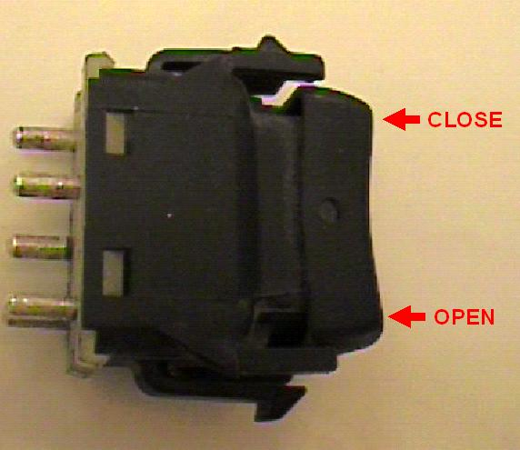 electric window troubleshooting remove the window switch to be tested from the door panel there are four tabs on the window switches two on top two on bottom which must be released to