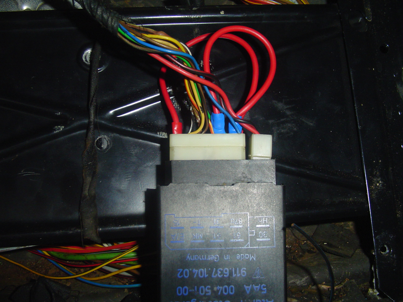 Porsche 944 Fuse Box Lid Wiring Library 968 Alarm System Bypassing Rh Clarks Garage Com Diagram 1987
